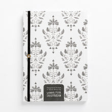 Load image into Gallery viewer, fancy monkey notebook damask front journal back