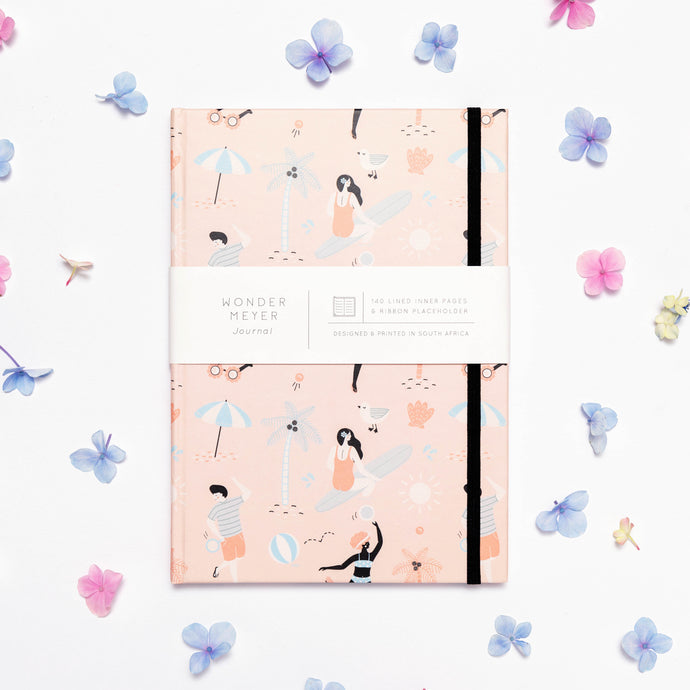 'Summer Days' Hardcover Journal