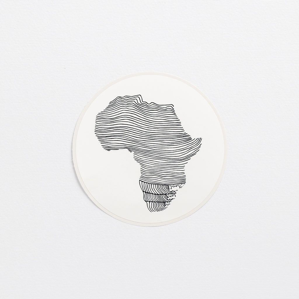 license disk africa wonder meyer illustrations sticker line waves
