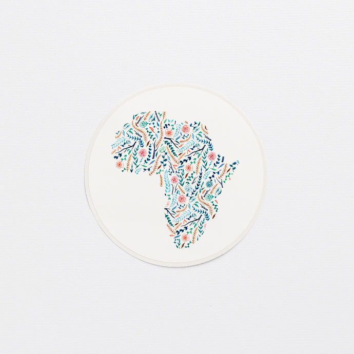 license disk flower africa wonder meyer illustration floral