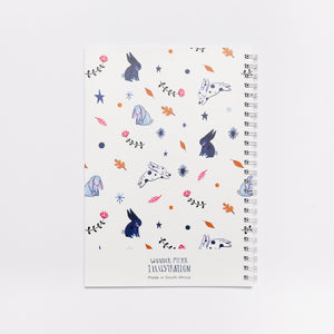 'Bunny' Softcover Notebook