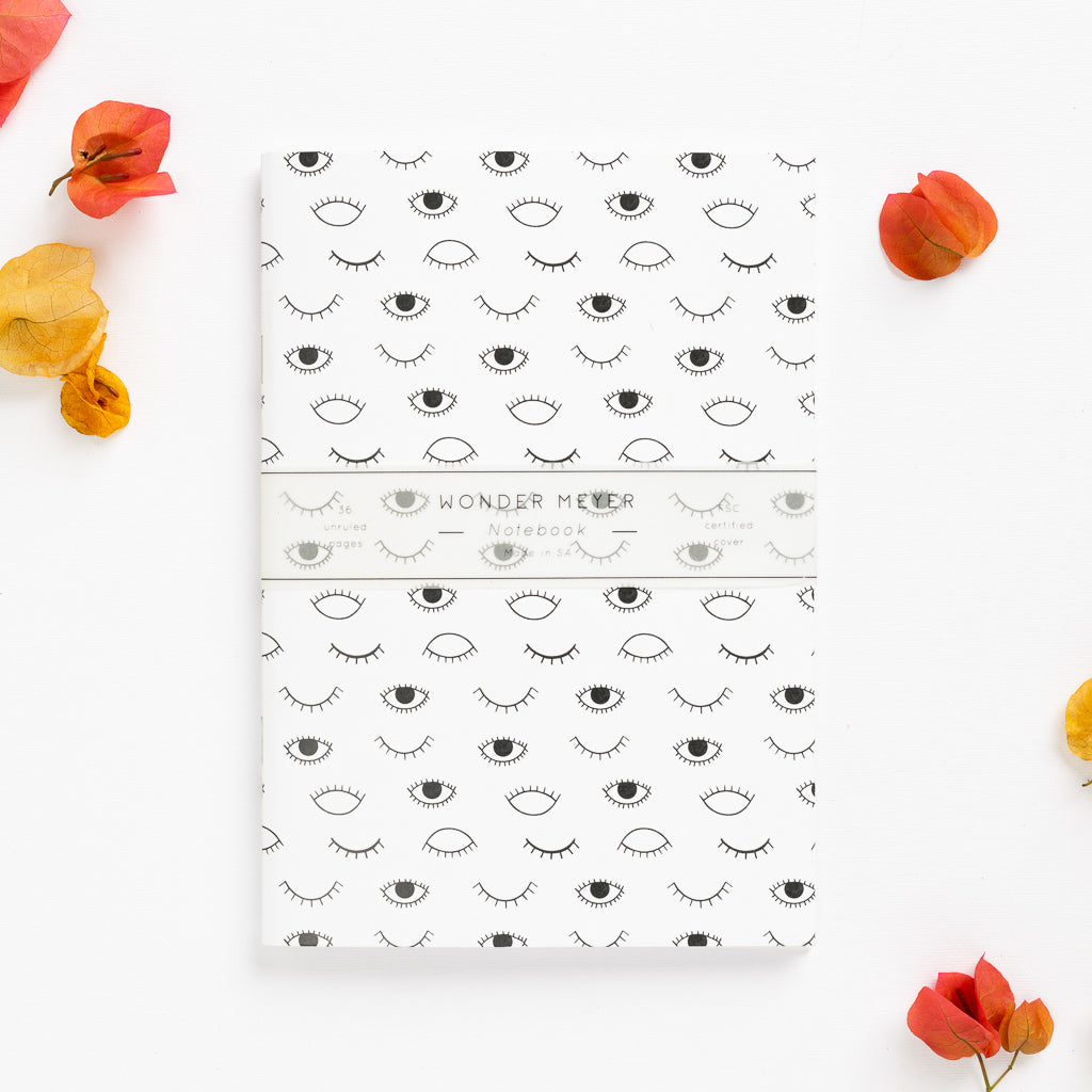 eyes on you soft cover journal