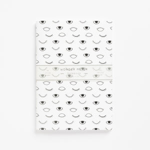 eyes on you soft cover journal blank