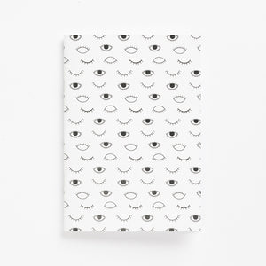 eyes on you soft cover journal front
