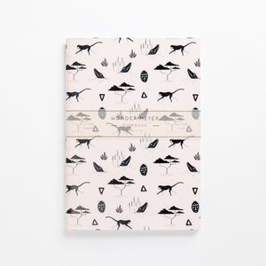 muti pink soft cover journal wonder meyer