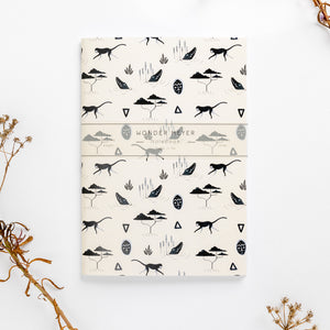 muti sand soft cover journal