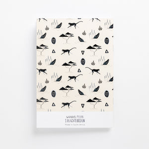 muti sand soft cover journal back