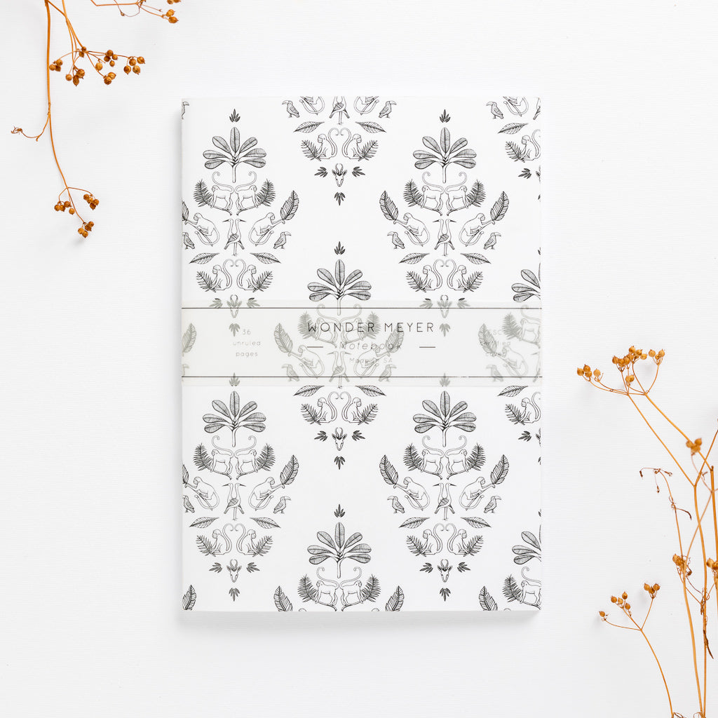 sa damask soft cover journal