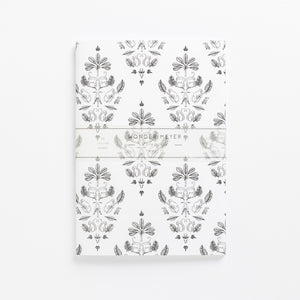 sa damask soft cover journal brand