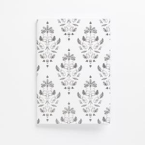 sa damask soft cover journal front