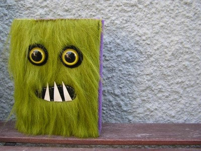 Mossy Monster Journal by Ghoulie Girls