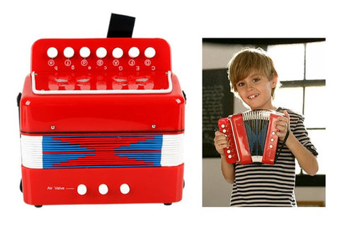 Kids Piano Accordion Musical Toy
