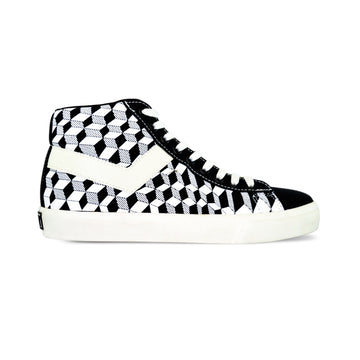 TOPSTAR HI CHESS NEGRO/BLANCO