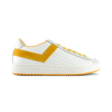 PRO 80 CUERO BLANCO/AMARILLO EURO PREMIUM COLLECTION