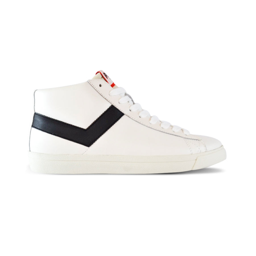 TOPSTAR HI CUERO BLANCO/NEGRO EURO PREMIUM COLLECTION