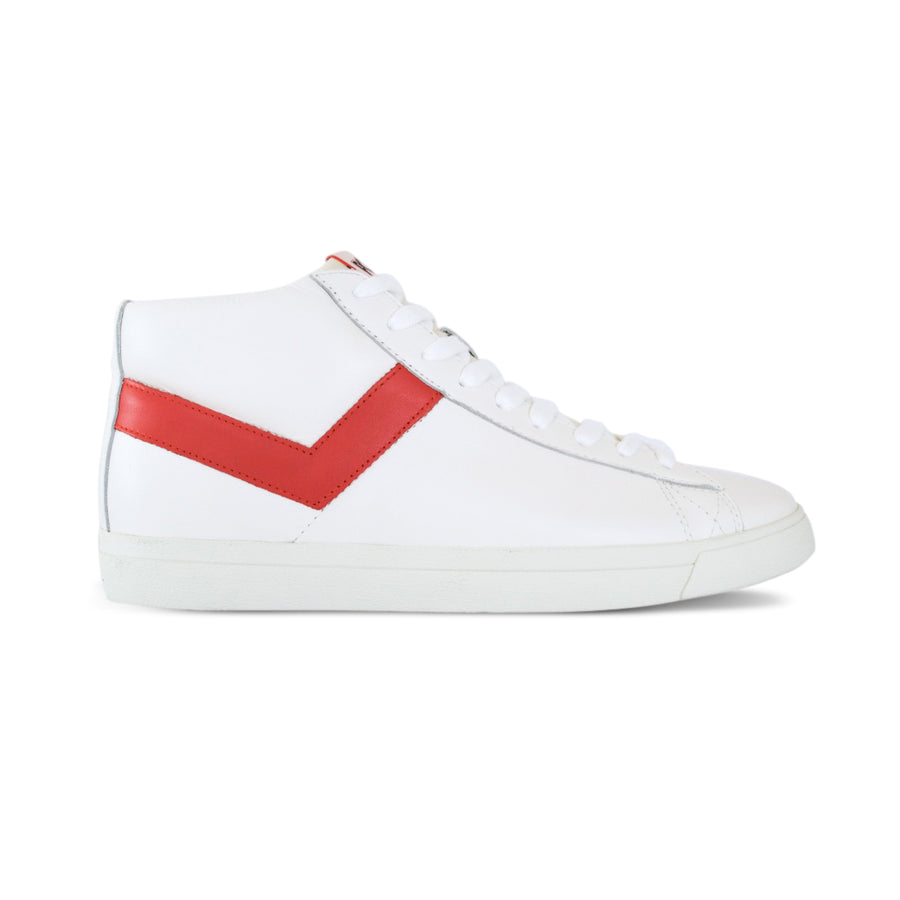 TOPSTAR HI CUERO BLANCO/ROJO EURO PREMIUM COLLECTION