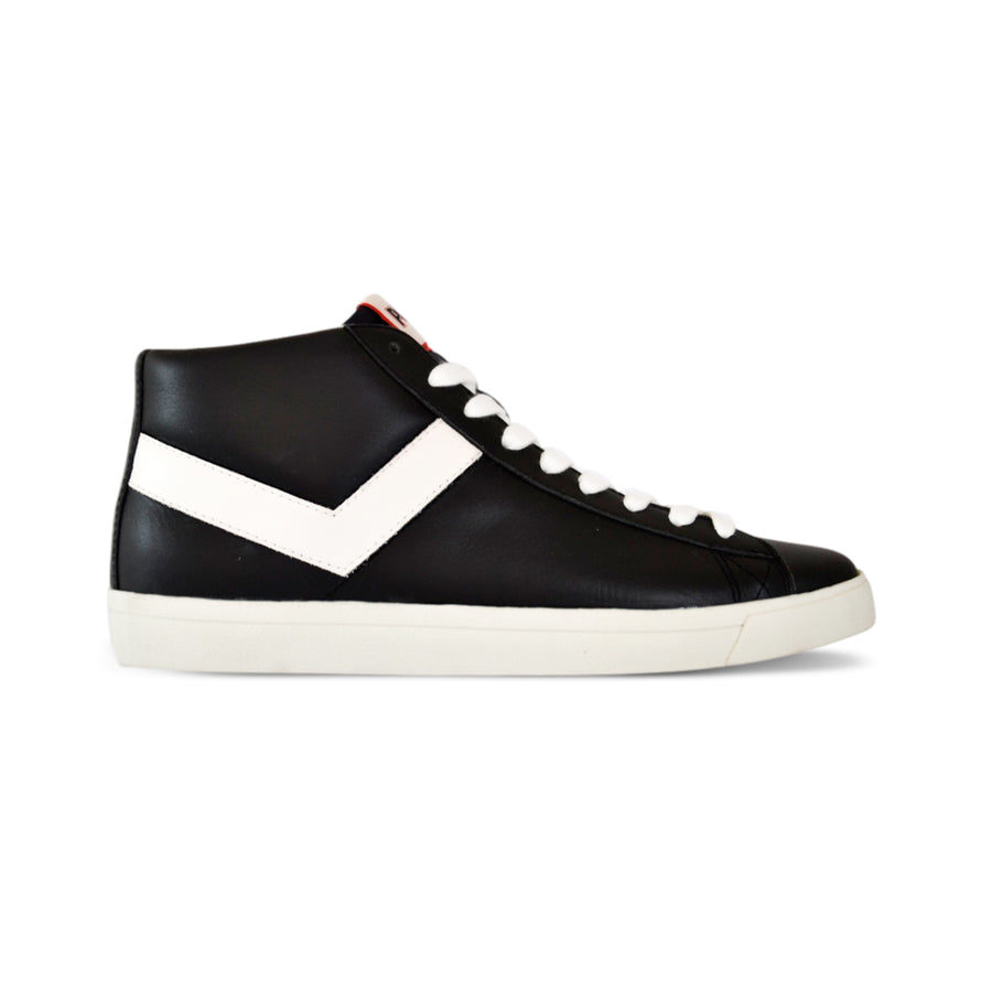 TOPSTAR HI CUERO NEGRO/BLANCO EURO PREMIUM COLLECTION