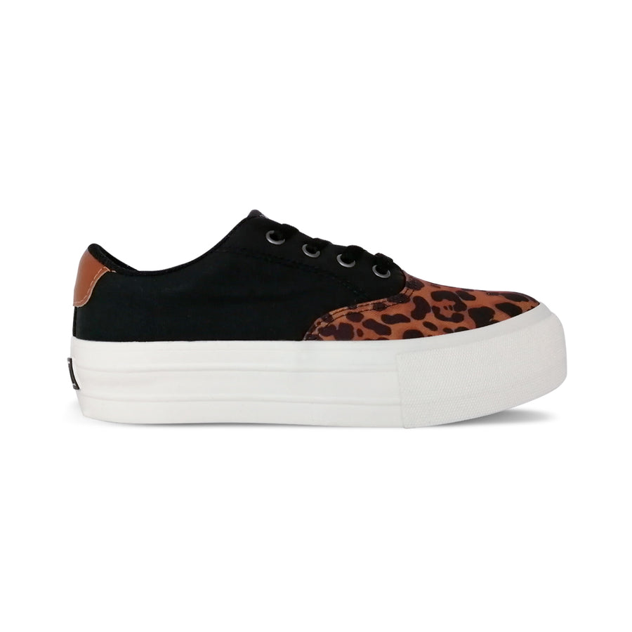 PLATFORM ANIMAL CANVAS NEGRO