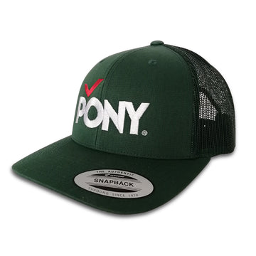 JOCKEY TRUCKER VERDE BORDADO