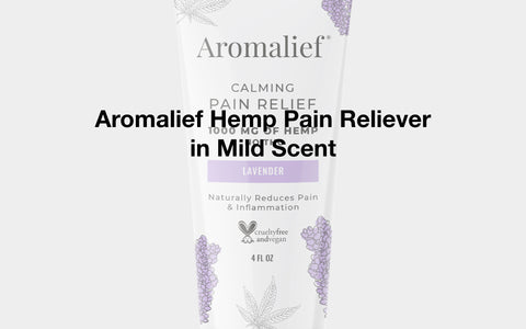 Aromalief Hemp Pain Reliever in Mild Scent