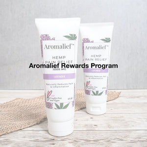 Aromalief Rewards Program