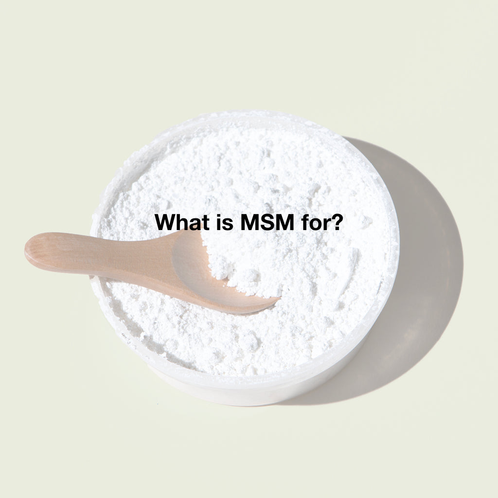 MSM For Pain Relief