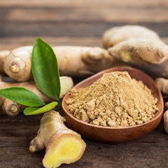 Aromalief 6 spices for arthritis pain relief ginger root and powder