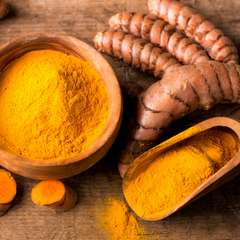 Aromalief 6 spices for arthritis pain relief Turmeric powder and root