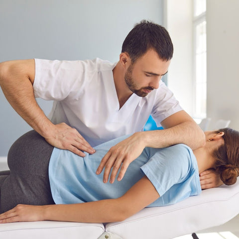 Chiropractic Care Twisting and Alignment