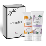 Aromalief Day and Night Gift Set - Orange Ginger & Lavender Full Size