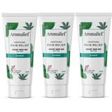 Aromalief Scented Pain Relief Creams in Soothing Spearmint 3 Pack
