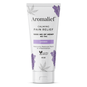 Aromalief Hemp Pain Relief Cream Sensitive - 4oz