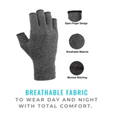 Compression Gloves - Gray