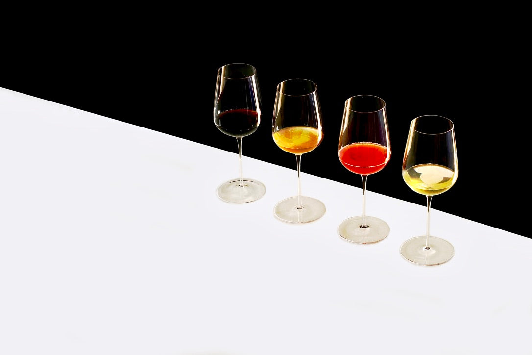 Universal Hand Blown Wine Glass