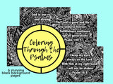 Coloring Through the Psalms {6 pages}