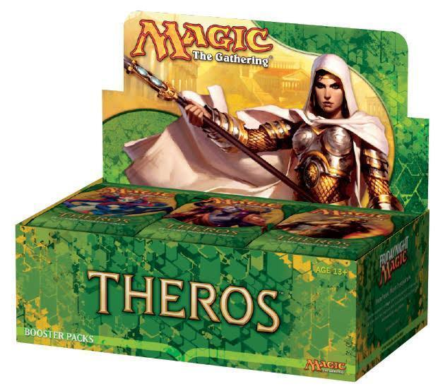 Magic The Gathering Theros Booster Box 36 Summerstoresr