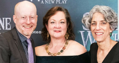 SASKIA Picasso Squared Necklace Premiere of Stone Witch Off Broadway Play