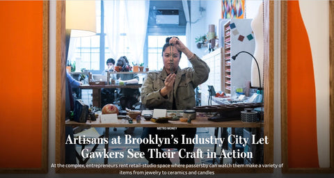 SASKIA Industry City Makers Guild Wall Street Journal Article