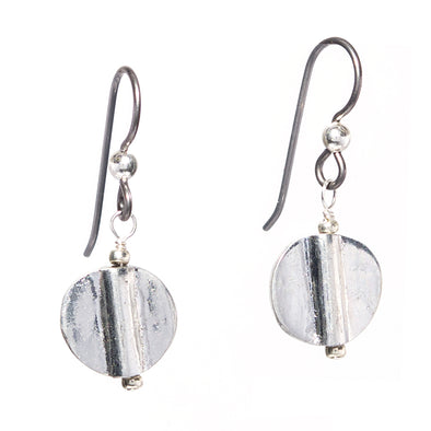 Discus Earrings - SASKIA