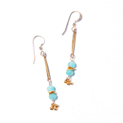Long Mumbai Earrings - SASKIA