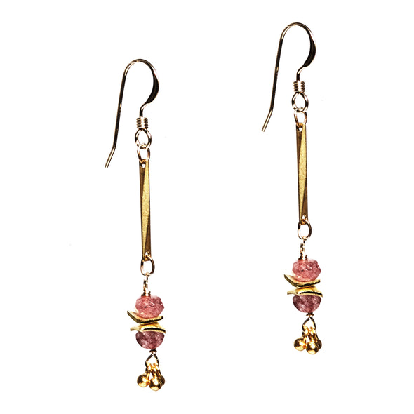 Long Mumbai Earrings