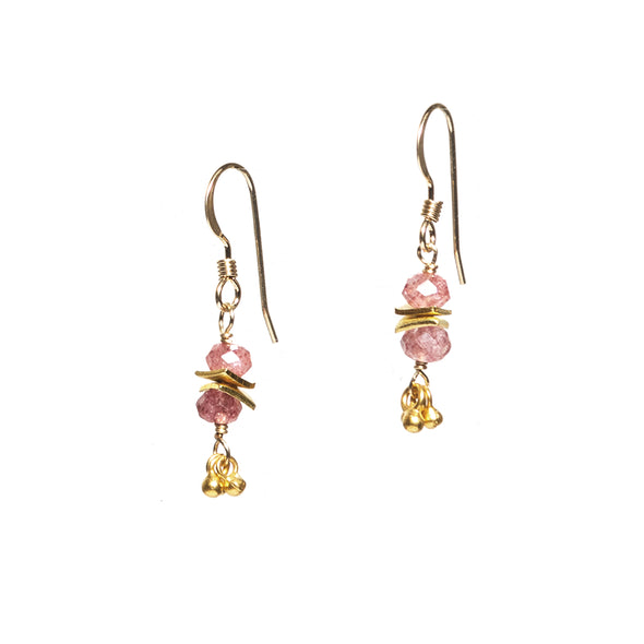 Short Mumbai Earrings - SASKIA