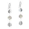 Triple Discus Earrings - SASKIA