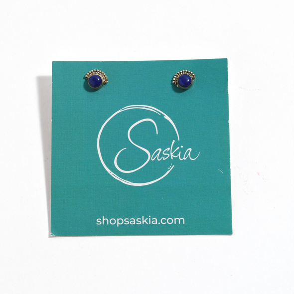 Stud Earrings - SASKIA