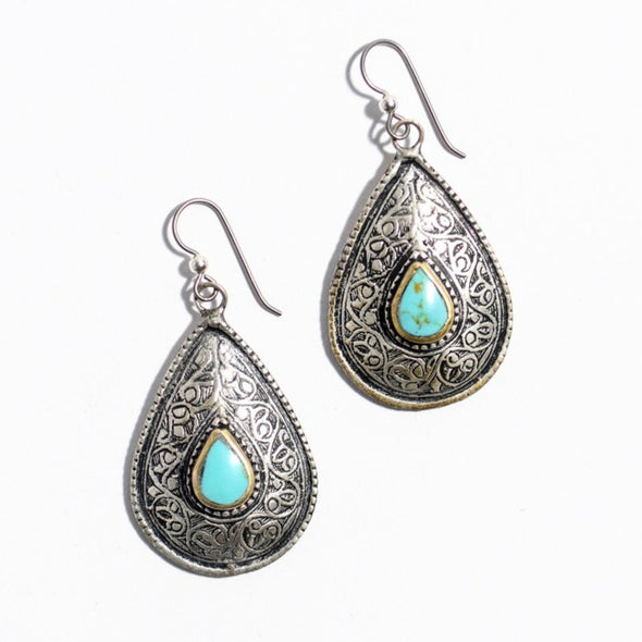 Afghan Earrings - SASKIA