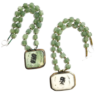 Two Of A Kind: Jade Pendant