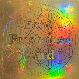 Food Freshness Card