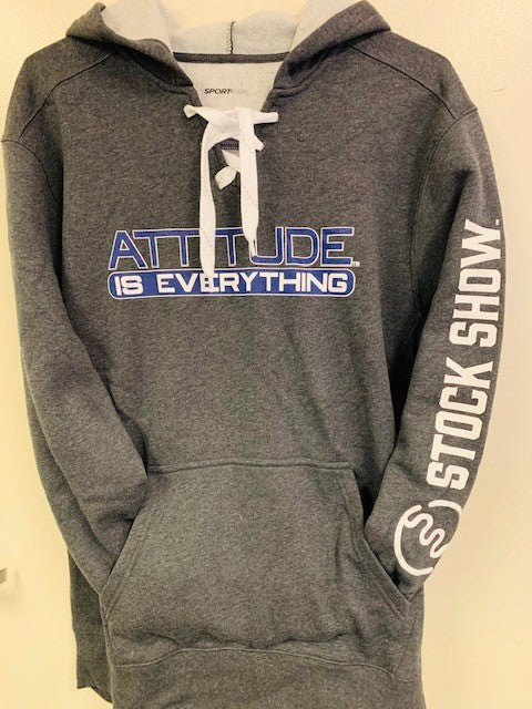 Attitude is Everything Lace-Up Hoodie