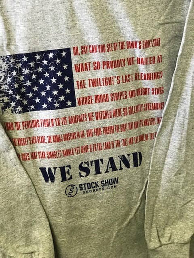 """WE STAND"" Long-Sleeve T-Shirt"