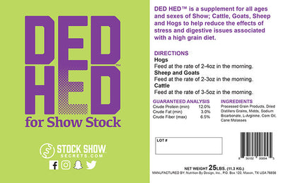Ded Hed for Show Stock